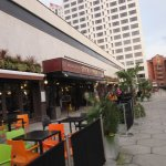 Located next door to First Direct Arena and the Merrion Centre