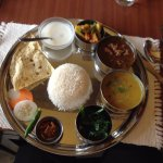 Best Nepali thali, What they provided us.