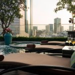 Rooftop Jacuzzi with City View