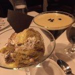 Tiramisu with an espresso martini