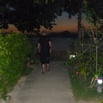 Path leading right to the beach