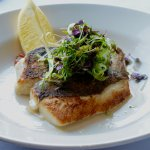 Market Fish with Micro Herbs
