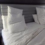Four Pillows Add to Sleep Comfort