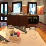 Amazing location in Venice. This hotel has spacious rooms yet maintains a cozy atmosphere.