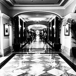 The magnificent Imperial Hotels main 100m hallway!