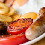 Walkers, cyclists and horseriders enjoy Billy's freshly-cooked breakfasts