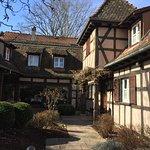 Maison à colombage typiquement alsacienne