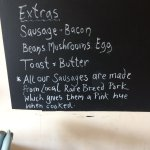 All produce is locally sourced, fresh  and cooked to order. Along with all the home baked cakes