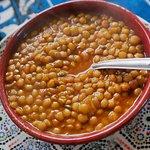 free starter of lentil soup