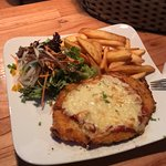 Chicken Parm with Chips