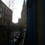 Vistas desde la habitación con balcón ala calle