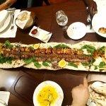 1 meter Iranian kabab