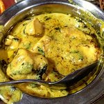 Butter Chicken (not tandoori - specifically mention that it shouldnt be red. Its a Yellow dish)