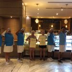 Salute to changing of the Ice Cream flavors daily, thanks to fun loving pool concierges!