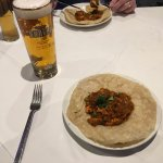 Chicken Chat Puree at The Blue Chutney