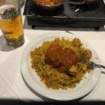 Chicken Biryani at The Blue Chutney