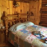 Bedroom at Brookside Cabin