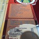 madges menu