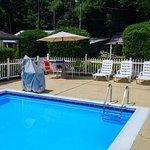 Pool with handicap lift!