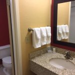 Bathroom - showing sink outside of bath/toilet