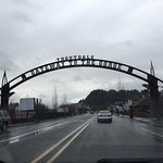Entering the gorge in Troutdale