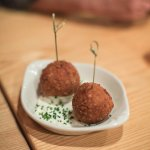 Croquettes of Pork Deliciousness with Star Island sauce