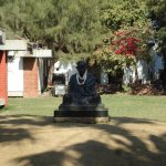 The Mahatma. Gandhiji became Mahatma for the country during his stay at this Ashram.