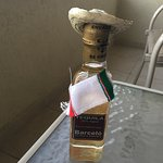 Our free bottle of tequila