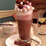 """The Works"" Epic Hot Chocolate at No.6 Tearoom"