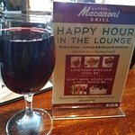 Happy Hour - house wine
