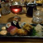 Sushi Starter was lovely
