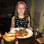Newsflash - 10 year old demolishes beautiful steak dinner!