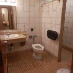 Bath house near pool - single private rooms