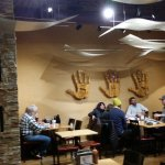 Very pleasant inside dining at Tocabe