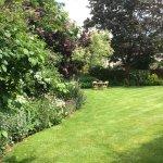 Bucks House has a beautiful walled garden.