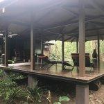 Spa/Yoga Deck, location of Romantic Sundown dinner