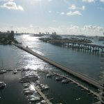 One last view of Biscayne Bay, but on a sunny day leaving, instead of the cloudy day we arrived