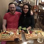 We love sushi and we try out every sushi restraint in the world where we have visited ,none come