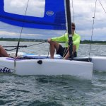 Try learning to sail