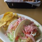 Lunch: Fish tacos