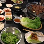 Delishious and very nice people. We wanted spicy Bulgogi which wasn't on the menu so they added