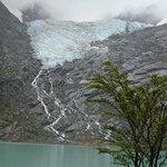 para sentarse un buen rato frente al glaciar y disfrutar