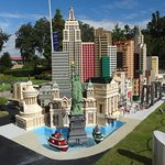 The Big Apple in Lego