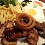 Mixed grill tastes as good as it looks!