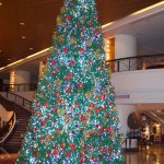 Decoration at the entrance for Christmas & New Year!