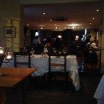 Dining area looking towards bar