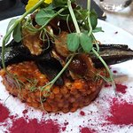 Aubergine with Couscous
