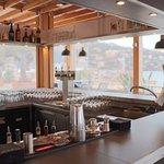 Vue sur le bar