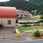 View of Queenstown railway station from Room2 Windows