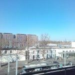 Hôtel avec jolie vue sur...la gare.